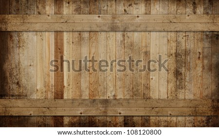 Weathered cedar background panel. - stock photo