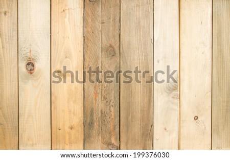 Weathered cedar background panel - stock photo
