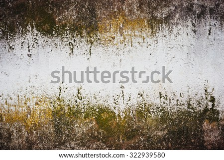 Weathered grunge wall background