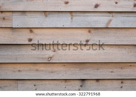 Weathered, natural softwood wall texture, especially suited as a background.