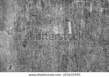 Weathered obsolete rough textured old plywood background - stock photo