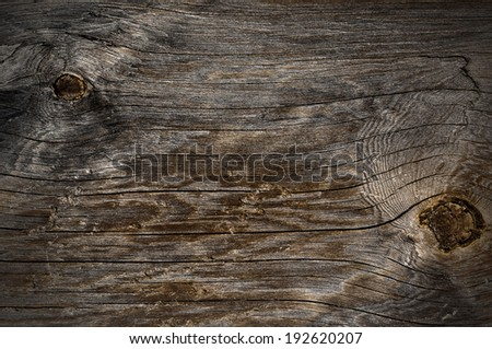 Weathered obsolete textured natural pattern wooden background