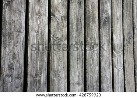 Weathered old wooden boards background. - stock photo