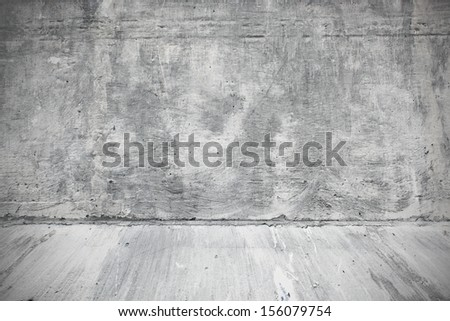 Weathered surface of wall in the industrial interior of the street - stock photo