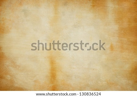 Weathered wood and paint background texture - stock photo