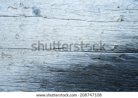 weathered wood blue grey grunge wood texture - stock photo