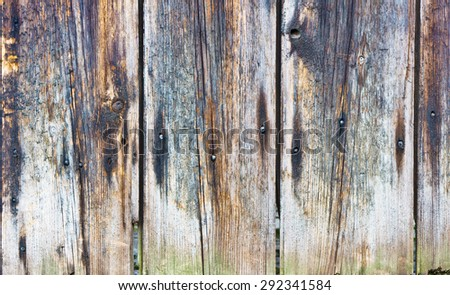 Weathered wooden panels as a background - stock photo