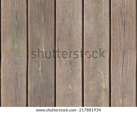 Weathered wooden plank background texture seamlessly tileable - stock photo