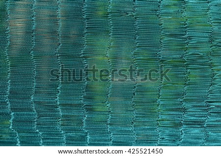 weave green rope pattern . rope background pattern texture.  - stock photo
