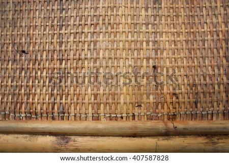 Weave texture background - stock photo