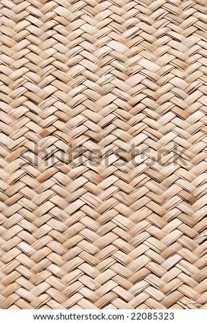 weaved straw - stock photo