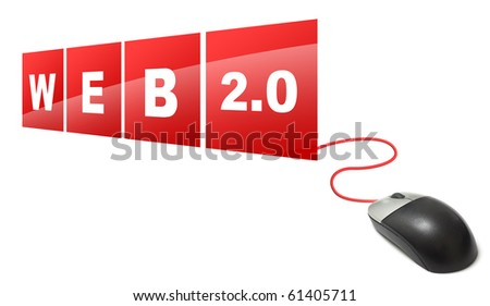 Web 2.0 - stock photo