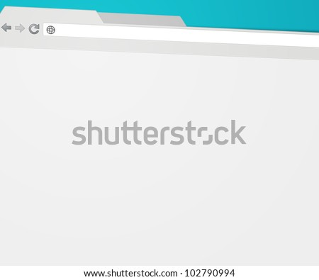 Web Browser Background - stock photo
