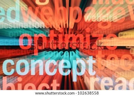 Web concept - stock photo