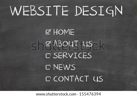 web design check mark selection
