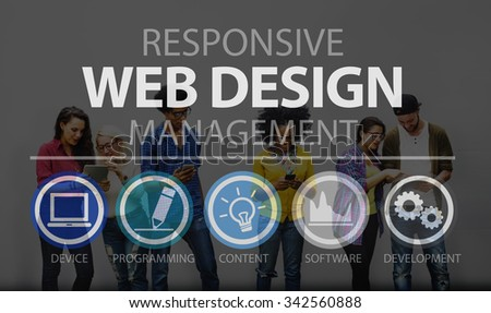 Web Design Programming Software Technology Concept