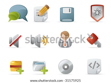 Web Icons - Novica Series #4. web 2.0 style, clean and professional see more icons in my portfolio.  - total 7 Set in Novica Icons Series