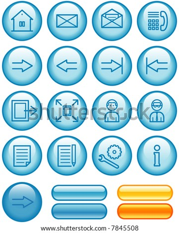 Web Icons Set (If you need this set in vector format - you'll find it in my portfolio)