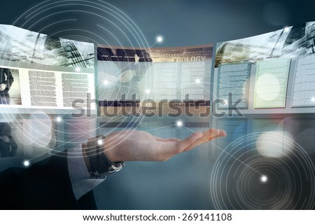 Web site design concept - stock photo