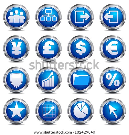 Web Site & Internet Icons - SET THREE - Raster Version - stock photo