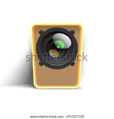 webcam icon - stock photo
