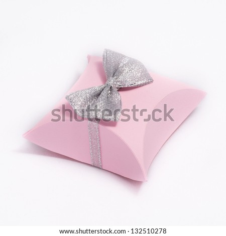 Wedding accessories on a white background - stock photo
