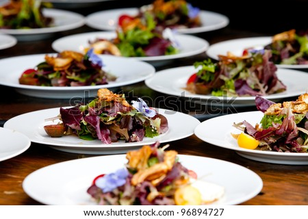 Wedding and event food preparation