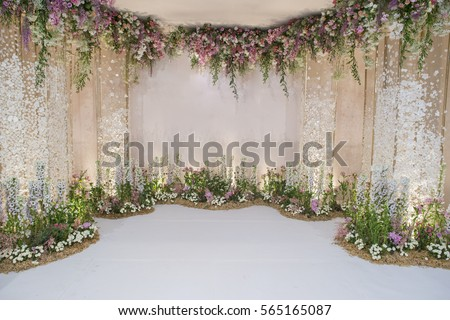 Wedding Backdrop Stock Images, Royalty-Free Images ...