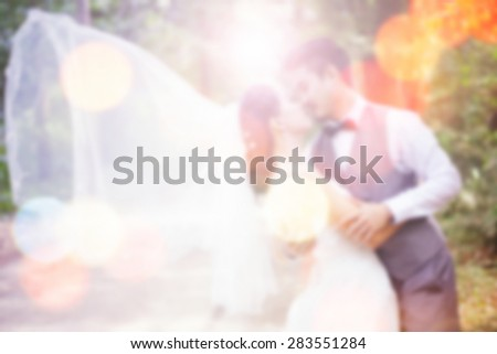wedding background.blur backgrounds concept - stock photo