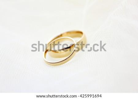 Wedding Bands - stock photo