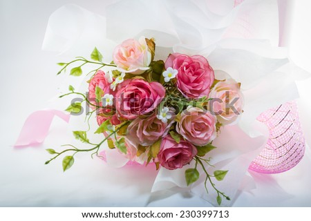 wedding bouquet, flowers, roses, beautiful bouquet