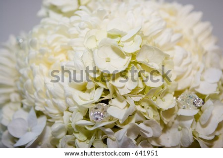 Wedding bouquet of flowers.