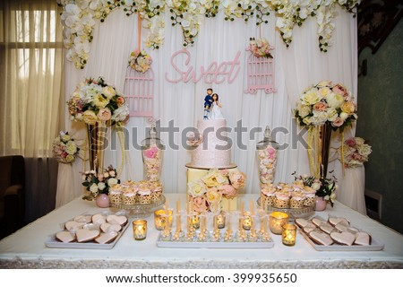 candy bar wedding cake buffet stock images royalty free images amp vectors 12346