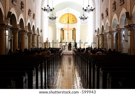 Wedding Ceremony Catholic Church