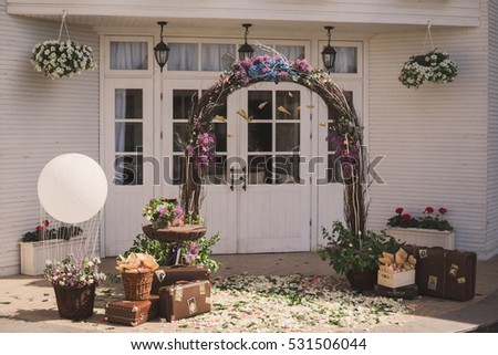 Wedding Balloon Arches Stock Images Royalty Free Images Vectors
