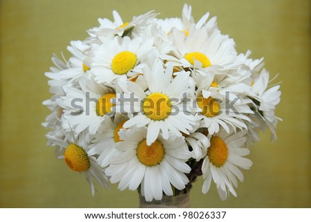 Wedding Daisy Flower Bouquet