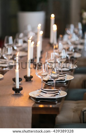 Candlelight Dinner Stock Images RoyaltyFree Images Vectors