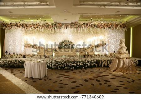 Wedding decoration wedding setup stock photo safe to use 771340609 wedding decoration wedding setup junglespirit Choice Image