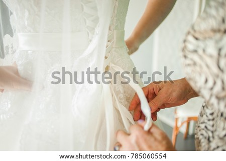 wedding dress, shoes and details