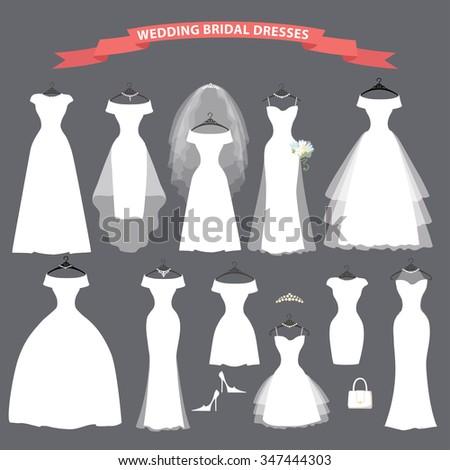 Wedding Dresses In Different StylesFashion Bride Dress Made Modern StyleWhite