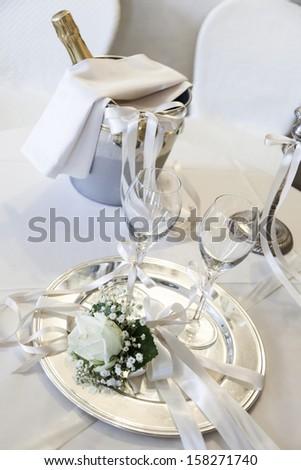 wedding drink - stock photo