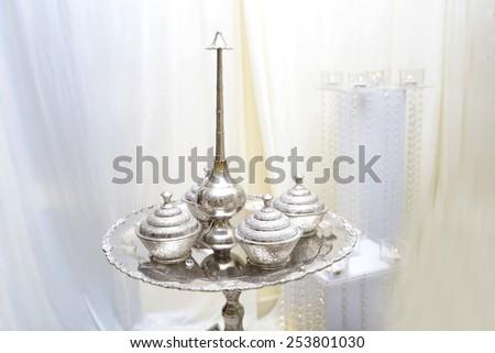 wedding equipment - stock photo
