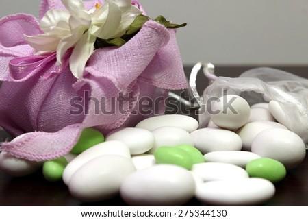 wedding favors - stock photo