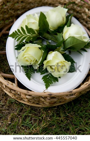 Wedding flowers. - stock photo