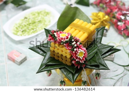 wedding for thailand - stock photo