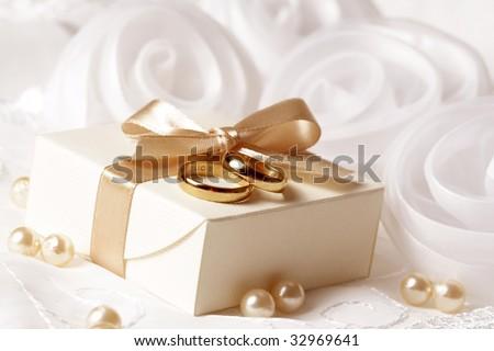 wedding gift - stock photo