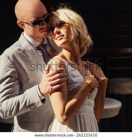 wedding in Cannes, Nice, Monaco, France - stock photo