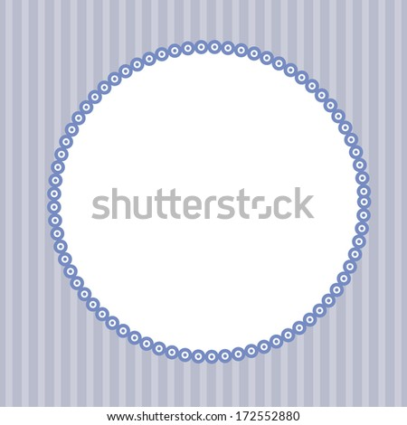 Wedding invitation card. Perfect as invitation or announcement. - stock photo