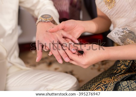 wedding, marriage, nuptials, matrimony in Thailand