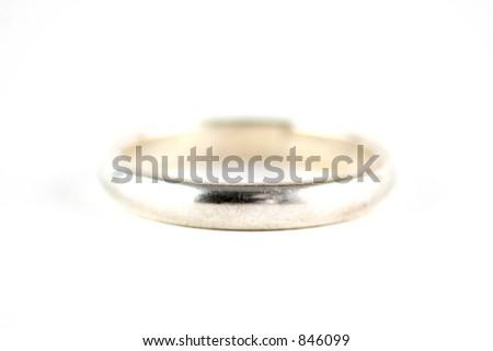 Wedding Ring Band - stock photo